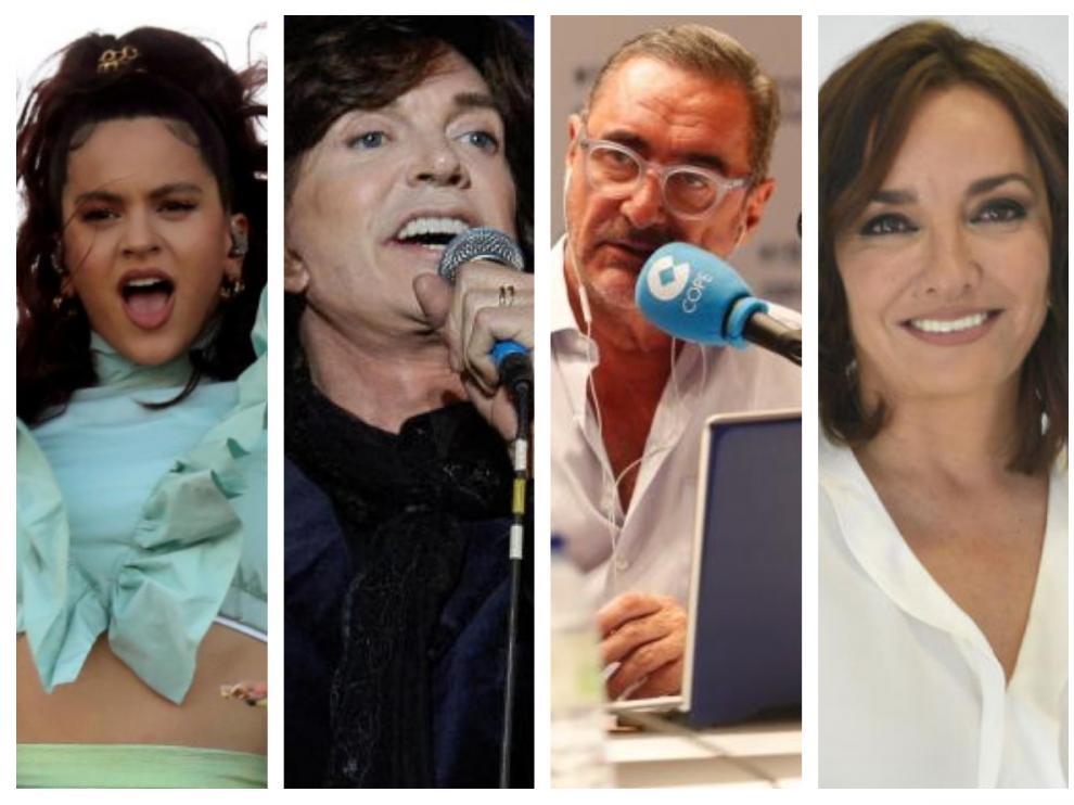 Rosalía, Camilo Sesto, Carlos Herrera y Pepa Bueno, Premios Ondas 2019.