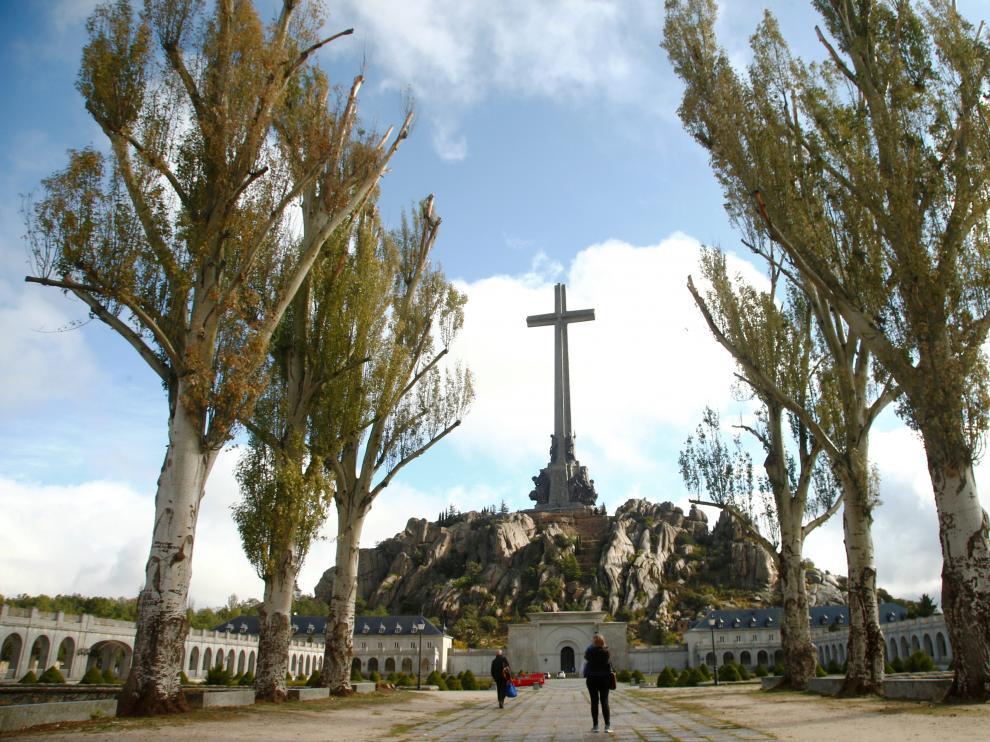 Una vista general del Valle de los Caídos.