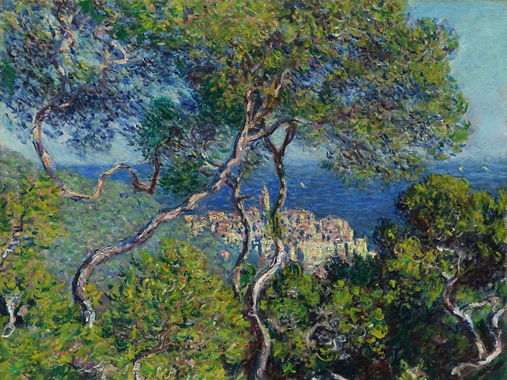 Monet, Franco y Bordighera.
