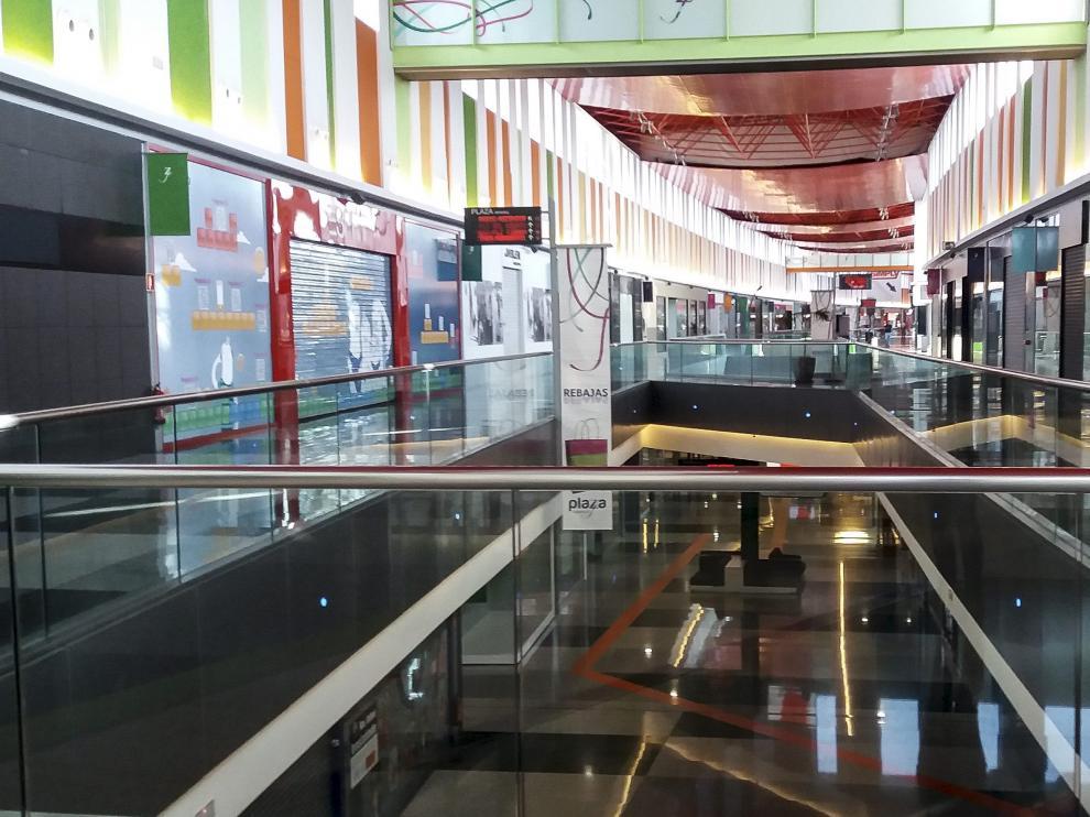 La galería comercial de Plaza Imperial de Zaragoza