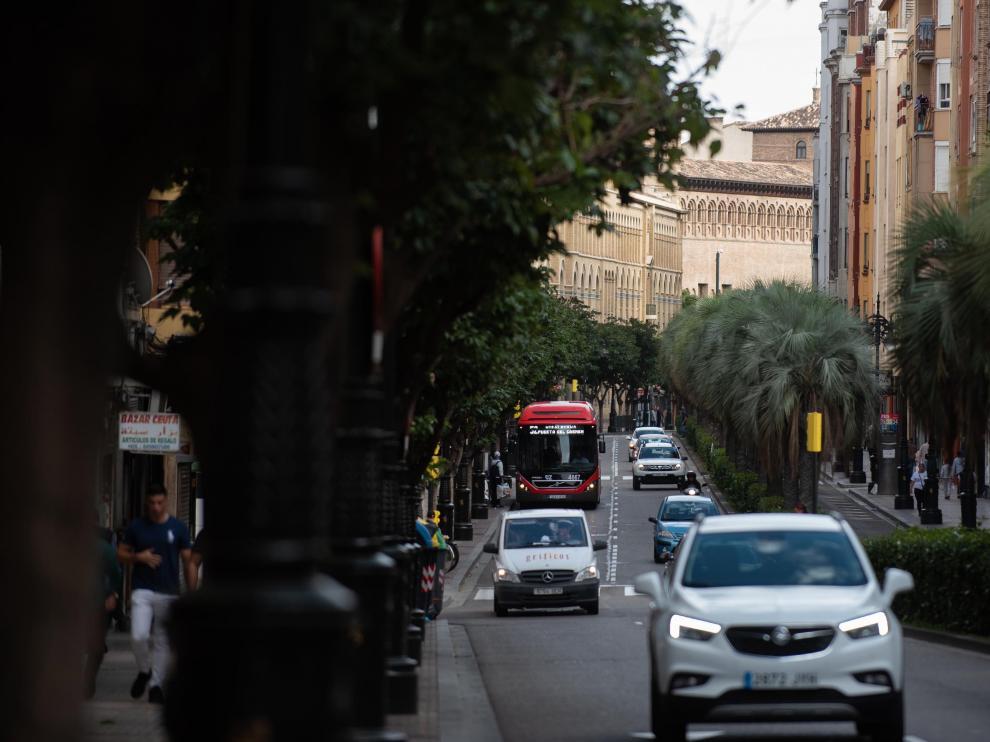 La calle de Conde de Aranda sumará 644 metros más de carril bus.