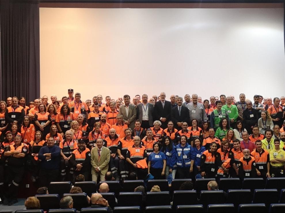 Más de 300 personas participan en el Congreso de Voluntarios de Protección Civil de Aragón
