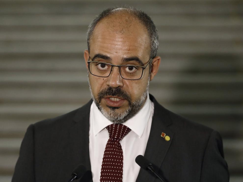 El consejero catalán de Interior, Miquel Buch.