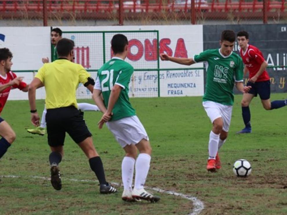 Fútbol. Regional Preferente- Mequinenza vs. Tardienta.