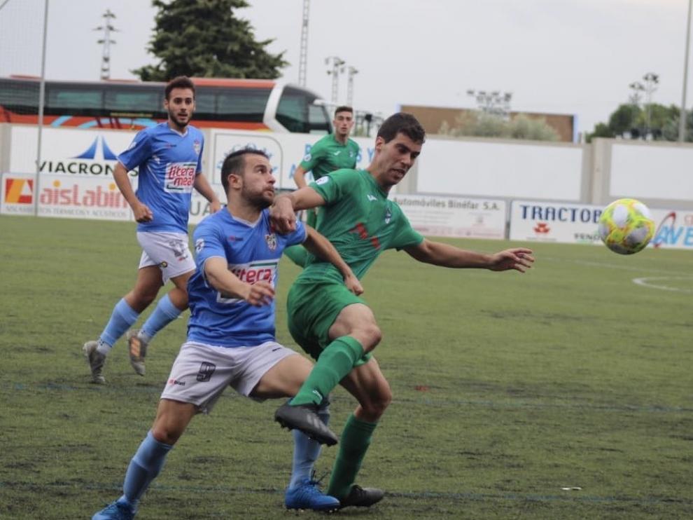 Fútbol. Tercera División- Binéfar vs. Utebo.