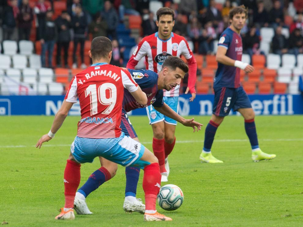 Lugo. Estadio Anxo Carro. Liga Smartbank. CD Lugo - SD Huesca