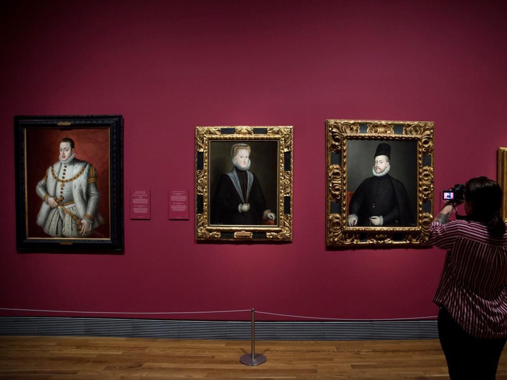 Vista de la exposición que se inaugura hoy en el Prado