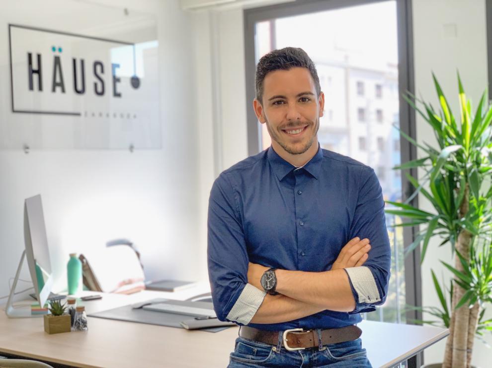 David Torres es el 'personal shopper' inmobiliario de Haüse Zaragoza