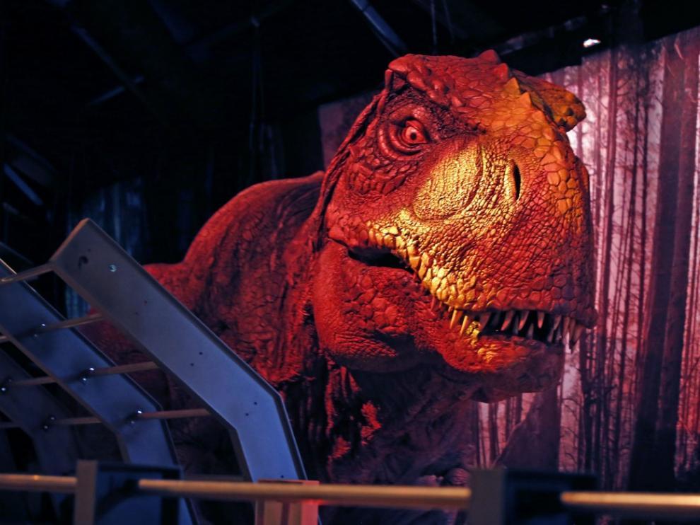 La exposición de dinosaurios anamatrónicos recalará en el Palacio de Congresos de Zaragoza los días 26 y 27 de octubre.