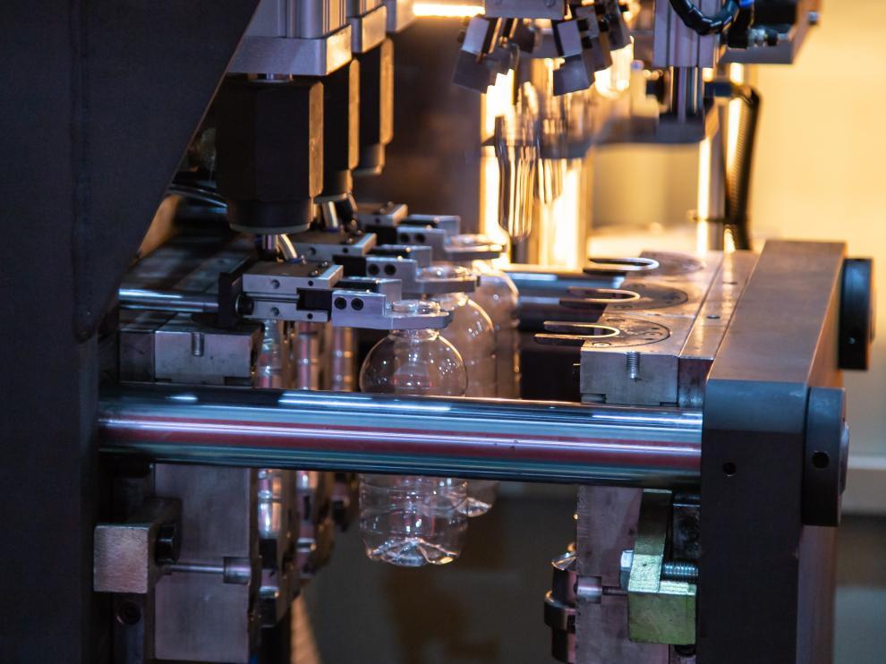 Proceso de fabricación de piezas de inyección de plástico.