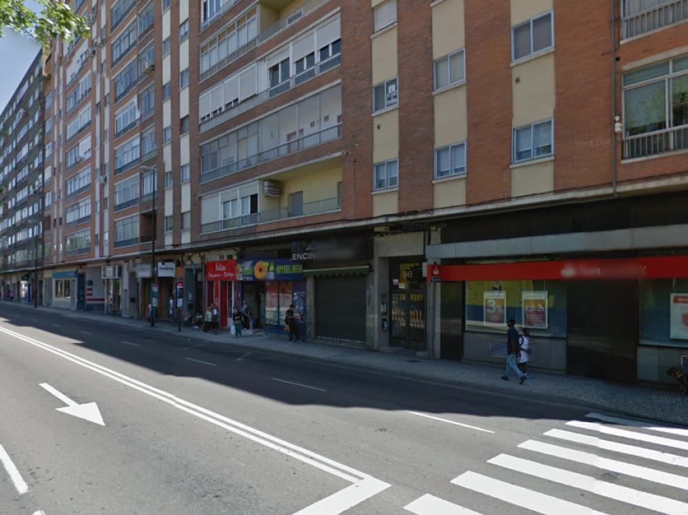 Los hechos tuvieron lugar a la altura del número 96 de la avenida de Cataluña.
