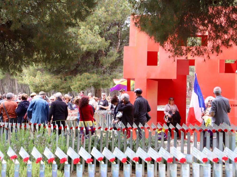 La espiral de la memoria, de Fernando Gallo y Miguel Ángel Arrudi, se restaurará el año que viene.