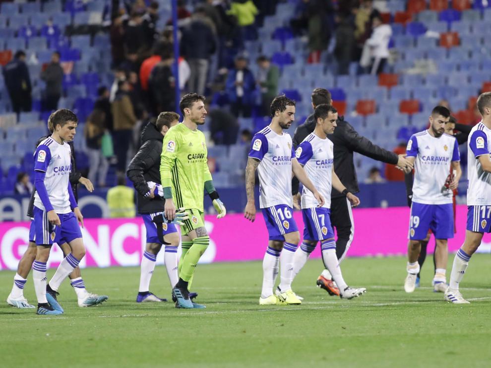 El Real Zaragoza cae i-2 ante el Mirandés en La Romareda