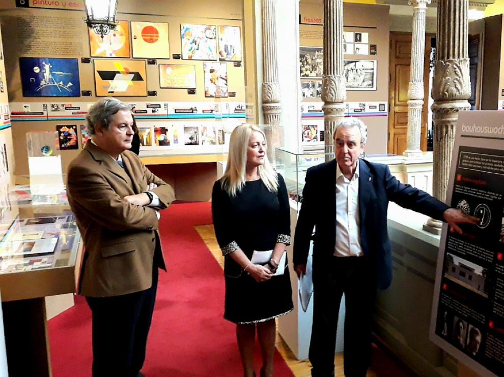 La DPZ homenajea el centenario de la Bauhaus con una exposición.