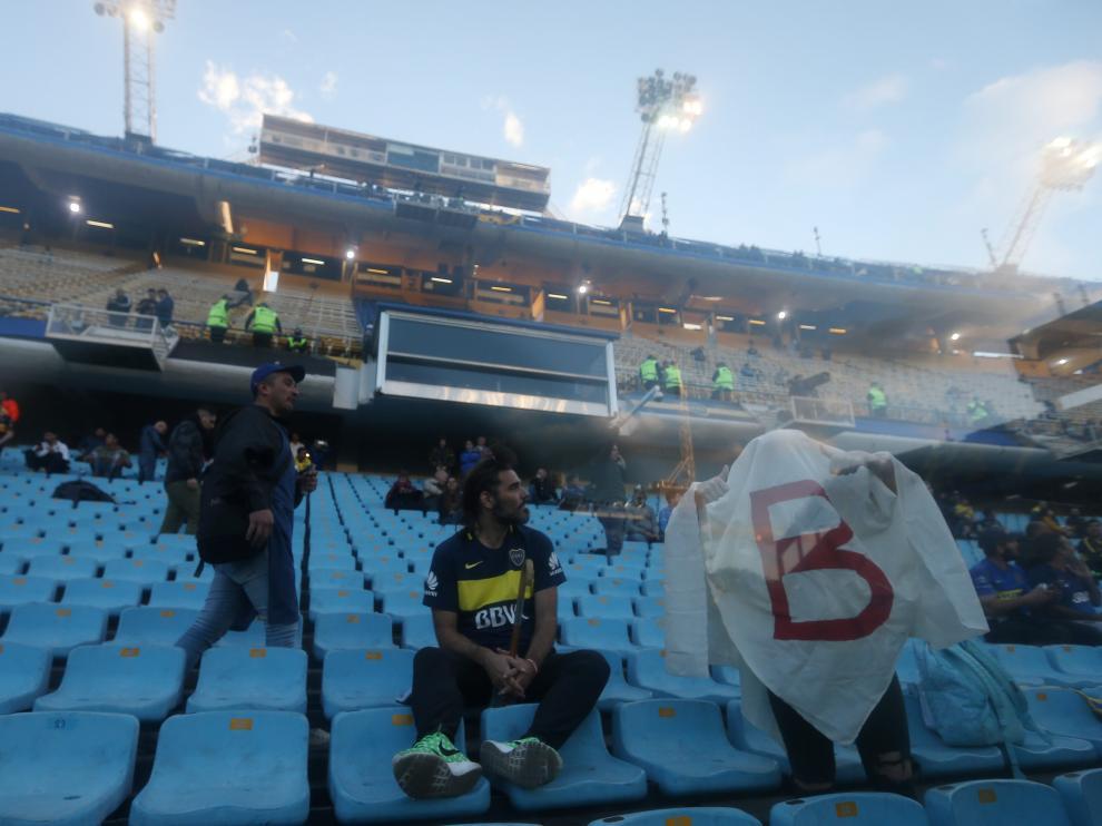 Semifinal del Boca Juniors contra el River Plate en el estadio de Buenos Aires (Argentina), este martes 22 de octubre.