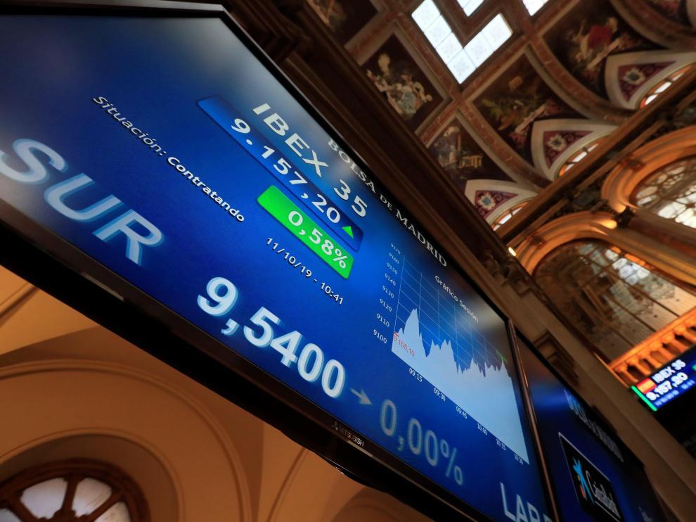 Una imagen de la Bolsa de Madrid
