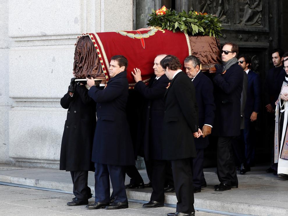 Exhumación de Franco en el Valle de los Caídos
