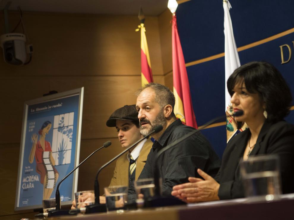 Presentación de la recreación de 'Morena Clara' en La Almunia.