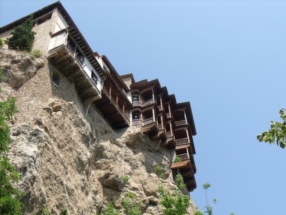 Imagen de las Casas Colgadas de Cuenca.