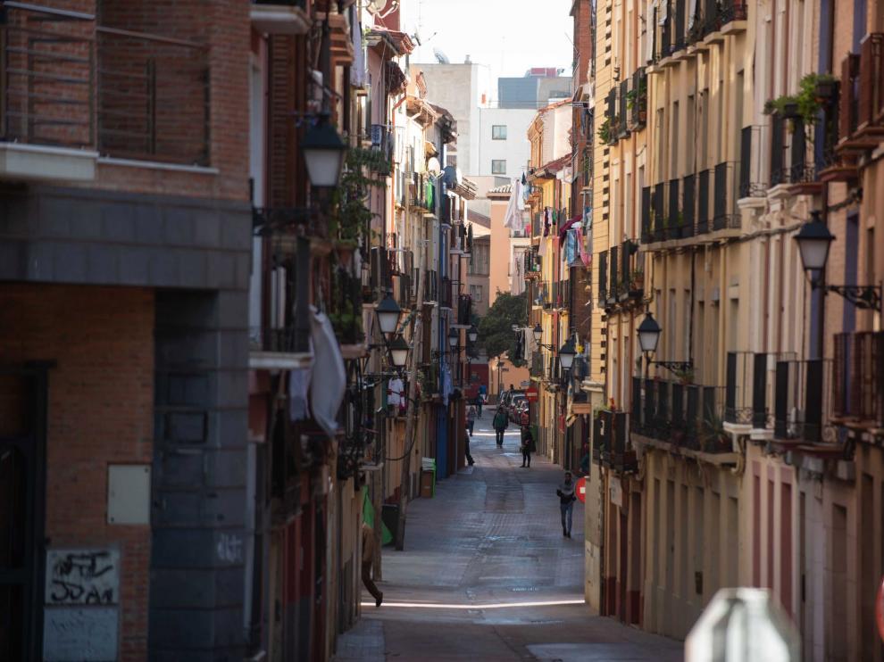 Los vecinos de la calle de Pignatelli podrán beneficiarse de las primeras subvenciones a comienzos del año que viene.