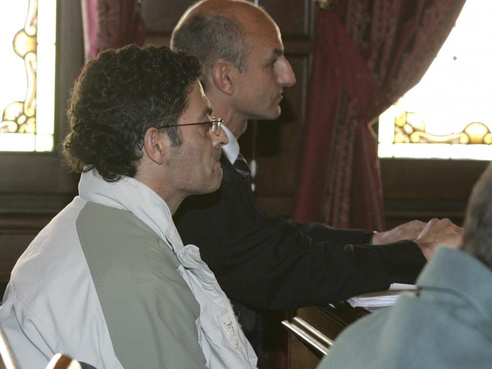 Imagen de archivo del juicio con José María Guerrero, el condenado, en primer plano.
