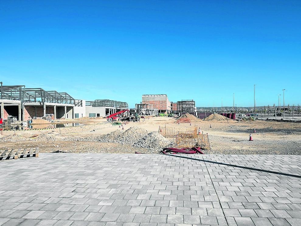 Las obras en la antigua fábrica de Pikolin avanzan con el objetivo de abrir esta primavera.