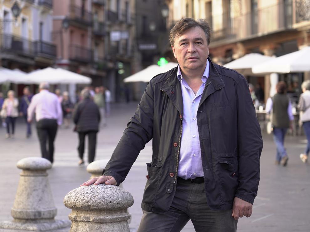 Tomas Guitarte, candidato por Teruel Existe a las elecciones generales. Foto Antonio Garcia/bykofoto. 09/10/19 [[[FOTOGRAFOS]]]
