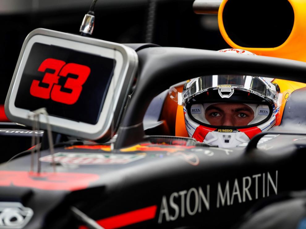 Verstappen consiguió el mejor tiempo en las clasificación del Gran Premio de México