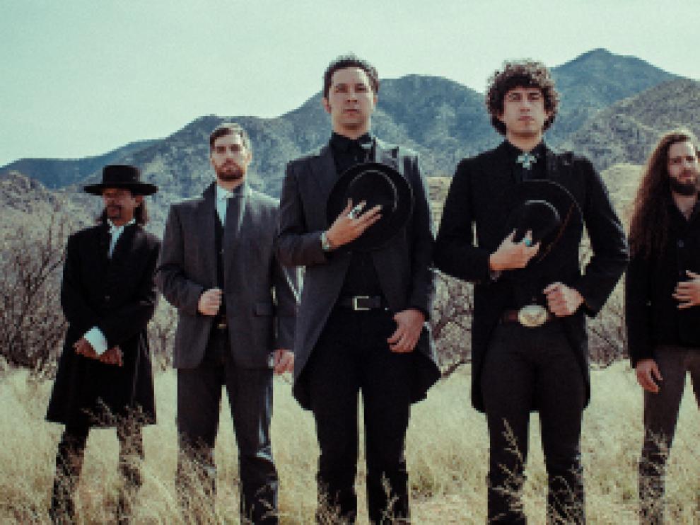 Los integrantes de la banda estadounidense Xixa.