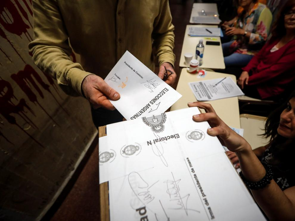 Elecciones en Argentina.