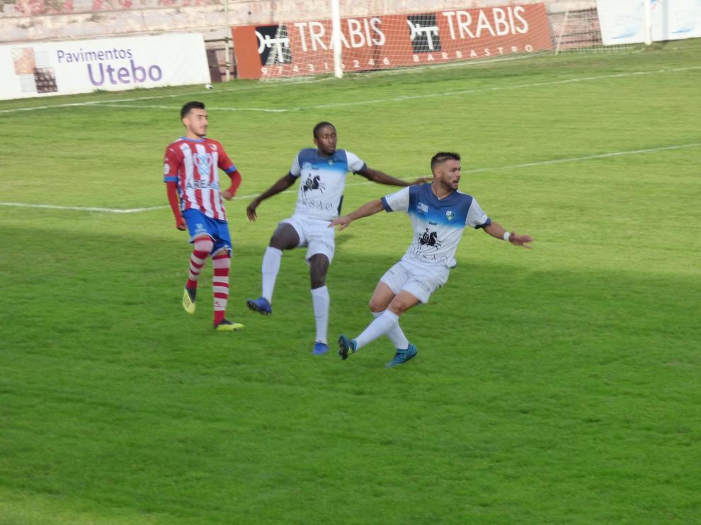 Fútbol. Tercera División- Barbastro vs. Borja.