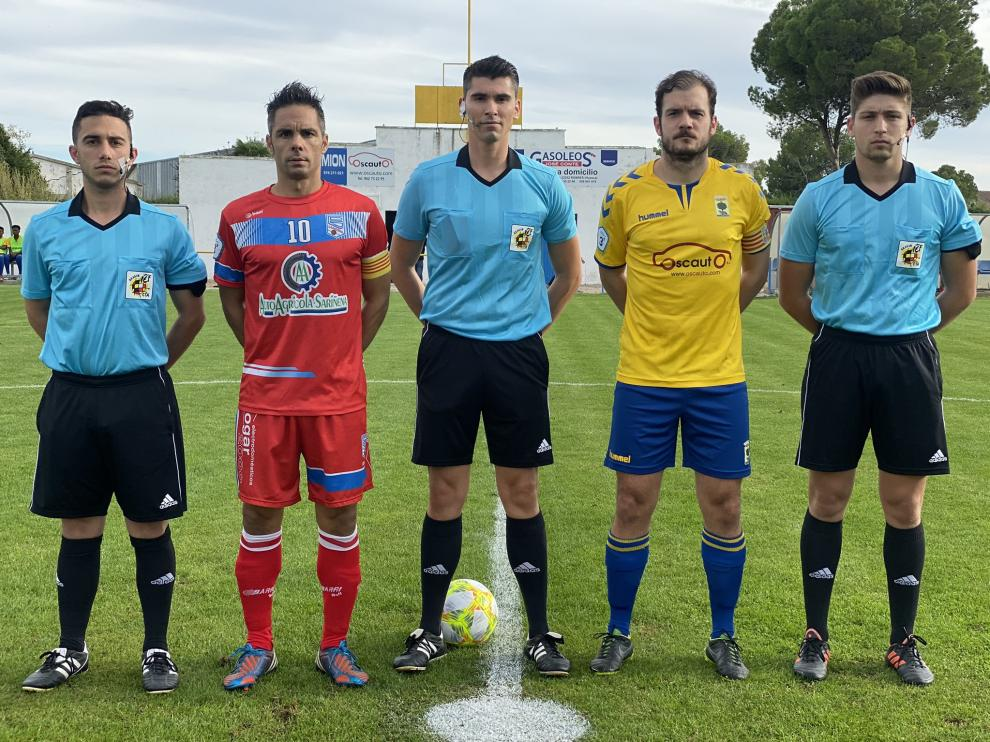 Fútbol. Tercera División- Robres vs. Sariñena.