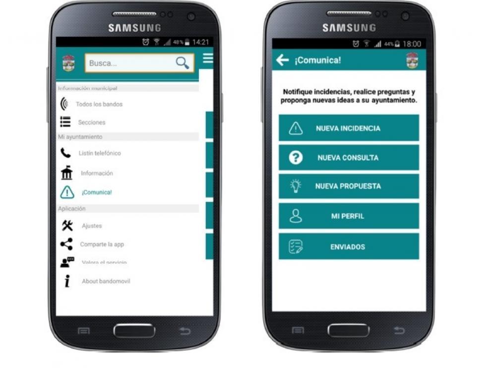 La interfaz de la aplicación es sencilla y de fácil manejo