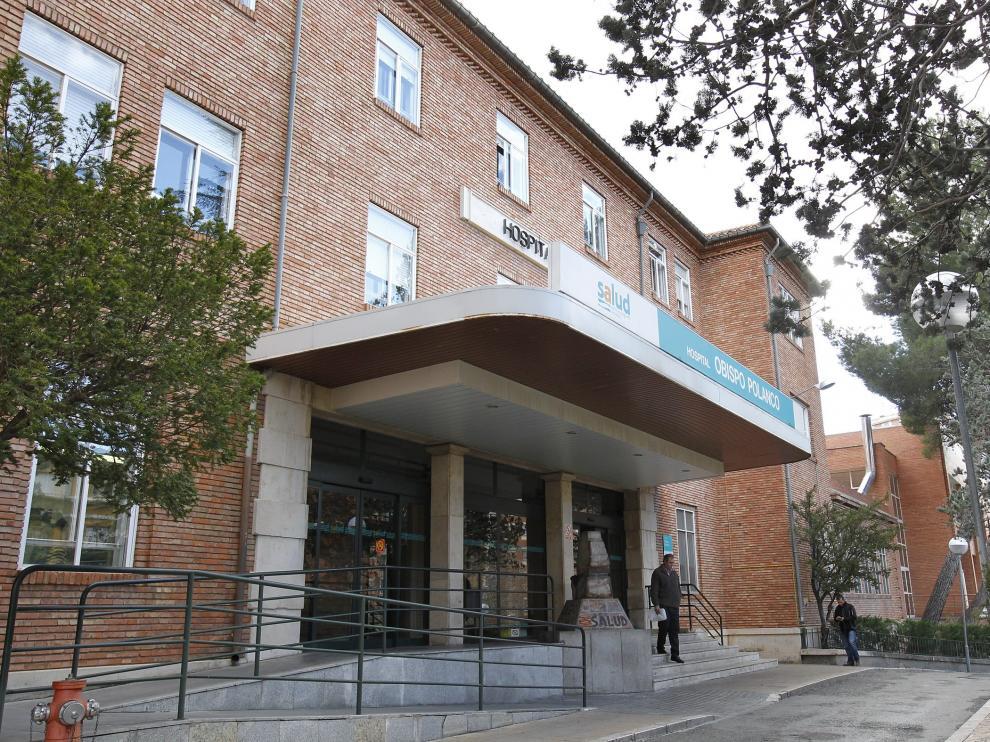 Fachada del Hospital Obispo Polanco de Teruel. Foto Antonio Garcia/Bykofoto. 16-01-15