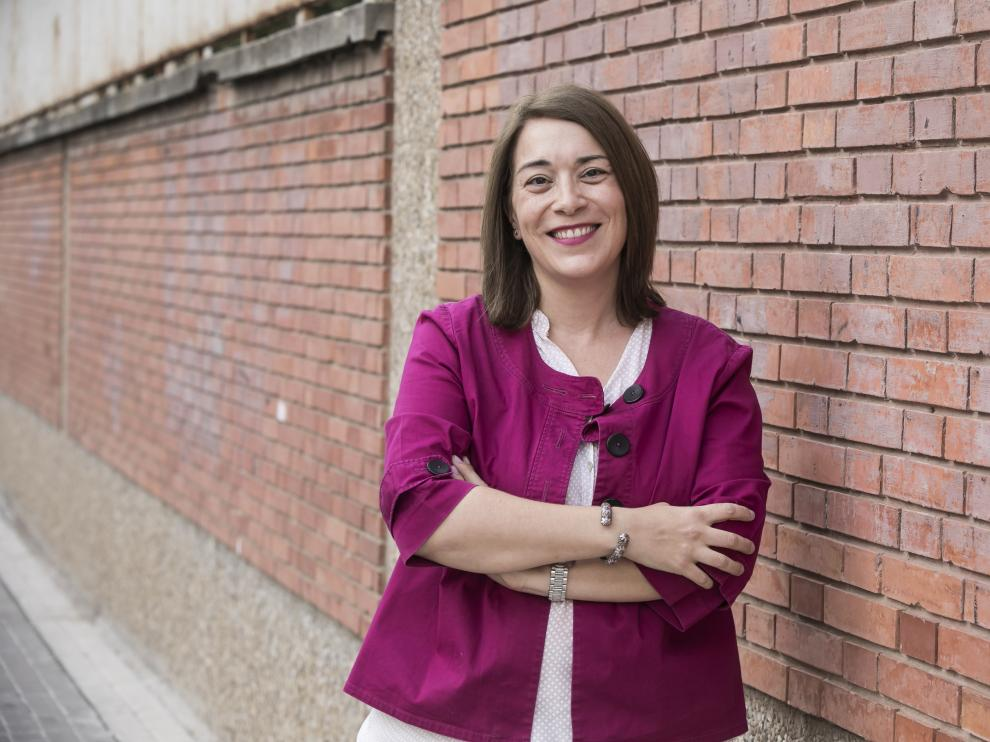 CULTURA Y OCIO. Museo Pablo Serrano.Entrevista a Raquel Casasnovas. Ha hecho una tesis doctoral sobre la accesibilidad de museos y centros culturales de la ciudad / 17-09-2019 / FOTO: GUILLERMO MESTRE [[[FOTOGRAFOS]]]
