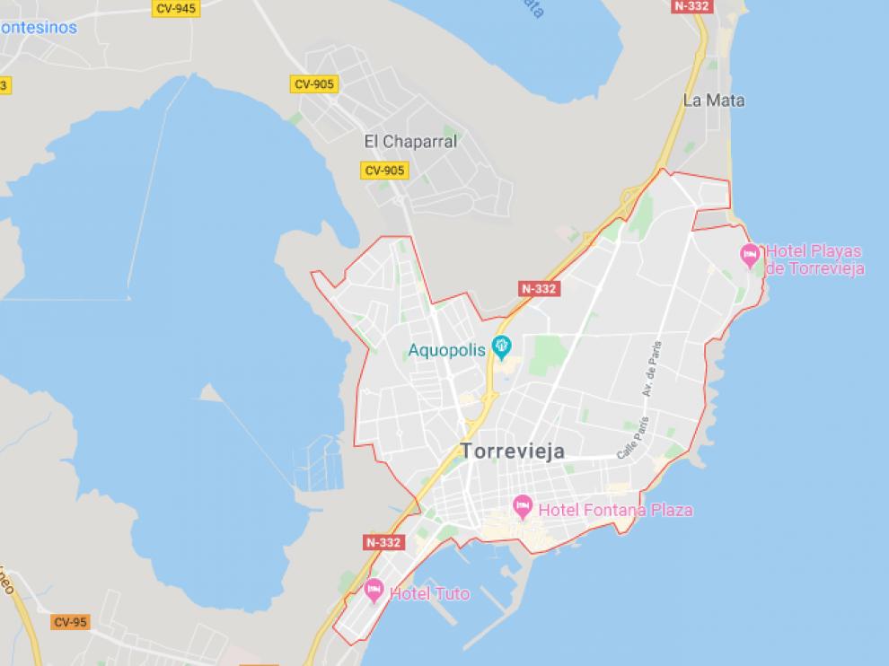 El apuñalamiento se produjo en Torrevieja (Alicante).