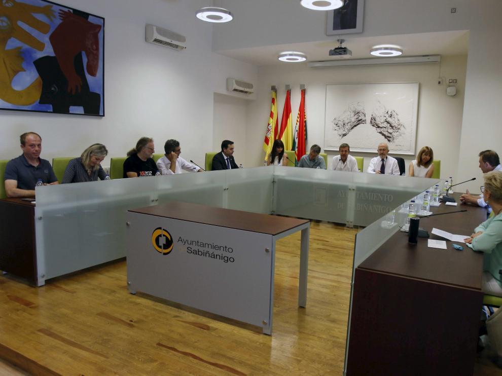 El pleno del Ayuntamiento de Sabiñánigo abordará la rectificación en la sesión de este jueves.