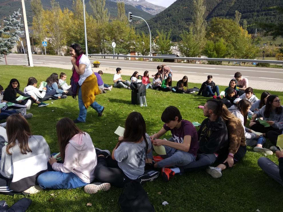 Jóvenes de doce comarcas aragonesas, este fin de semana en Villanúa