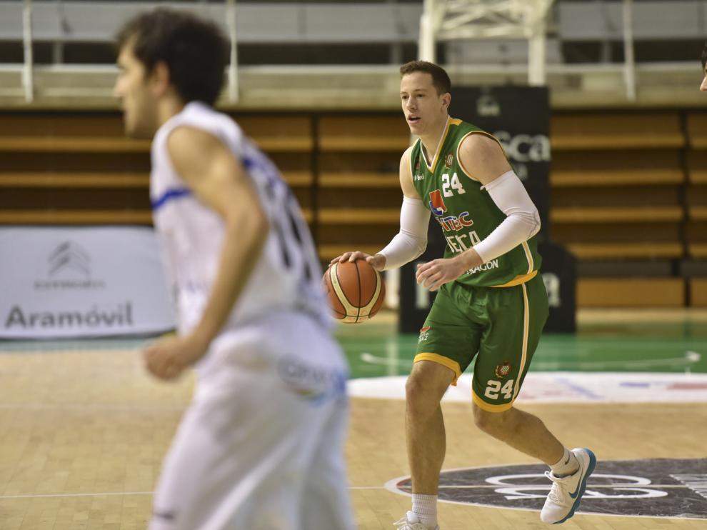 David Skara, uno de los jugadores más destacados del Levitec Huesca.