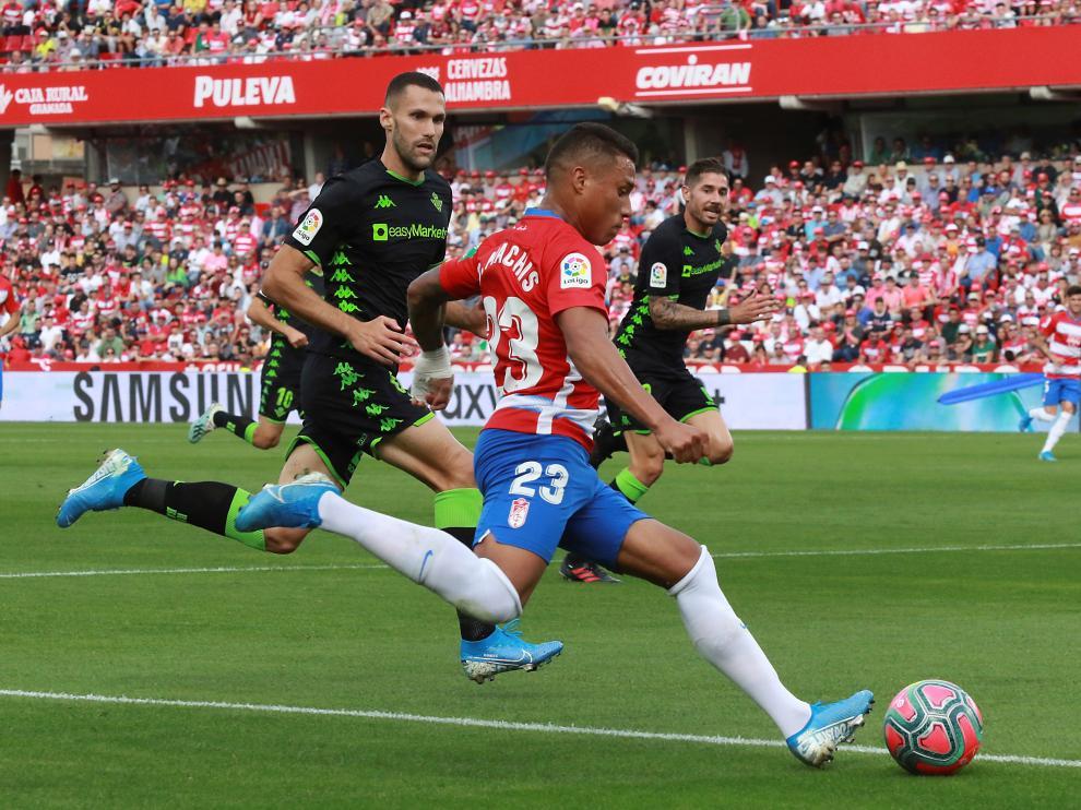 Darwin Machís, durante el partido del pasado fin de semana.