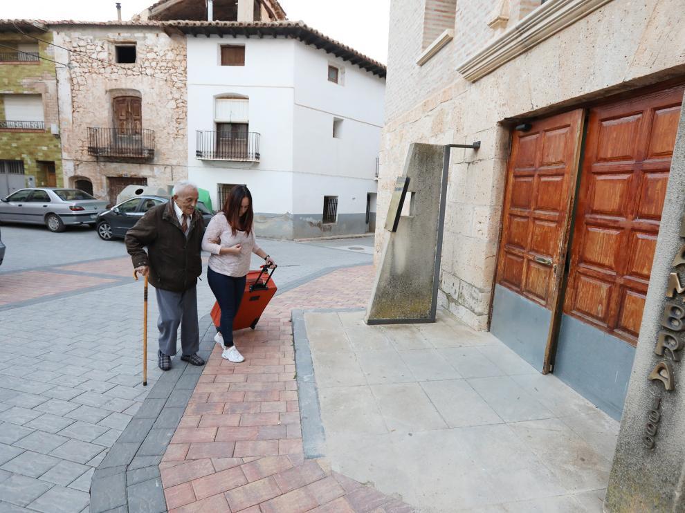 Residencia de la tercera edad Alfambra /29-10-19/foto:Javier Escriche [[[FOTOGRAFOS]]]