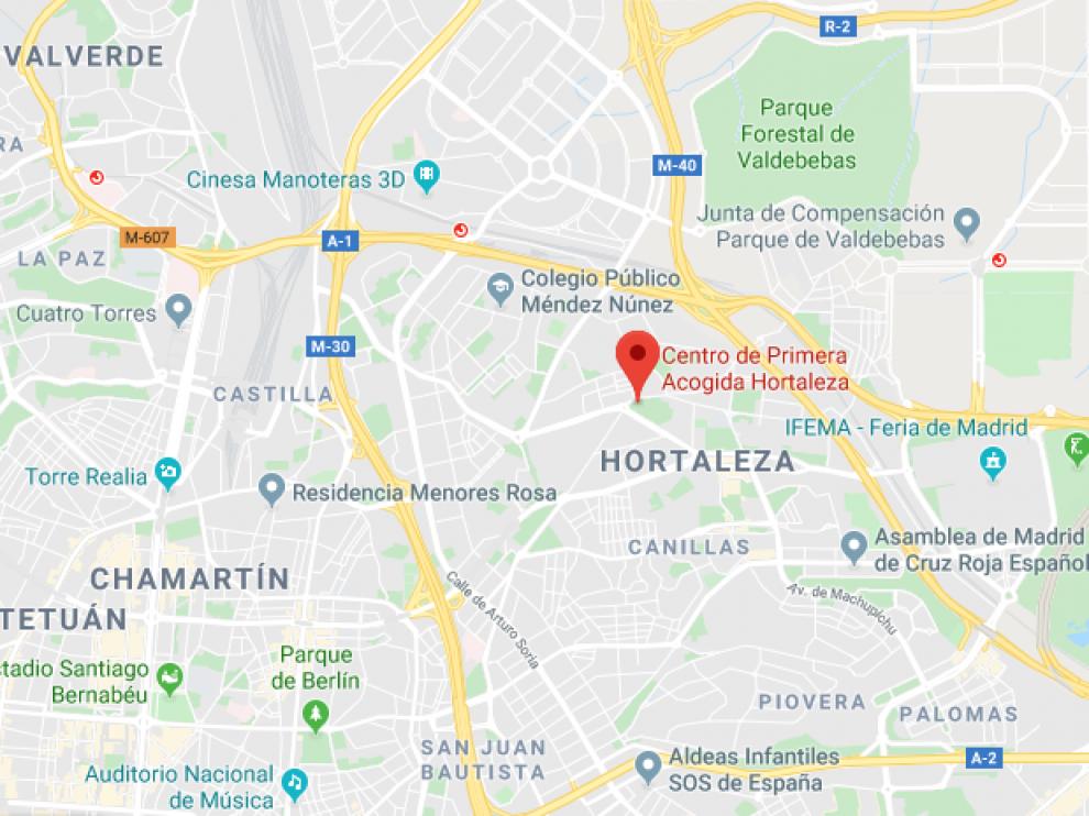 Centro de Menores Hortaleza, Madrid.