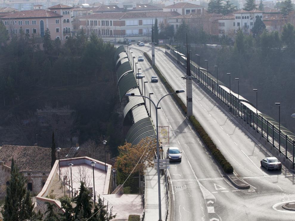 Viaducto nuevo de Teruel. Foto Antonio Garcia/Bykofoto. 11-01-14