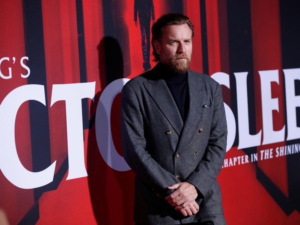 El actor Ewan MacGregor en el estreno de la película 'Doctor Sleep' en Los Ángeles.