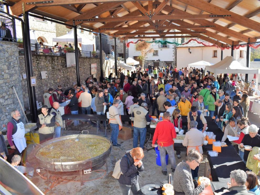 Imagen de archivo de la Feria de la Patata de Chía.