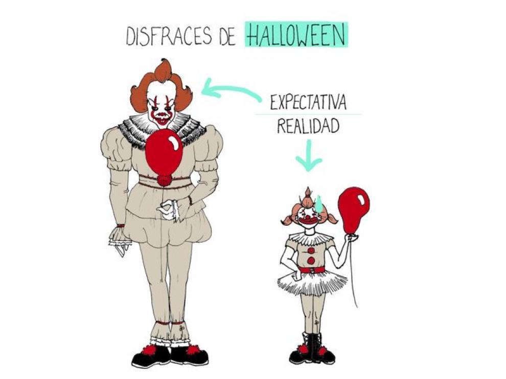 Tu disfraz de Halloween... No es de lo que más miedo da.