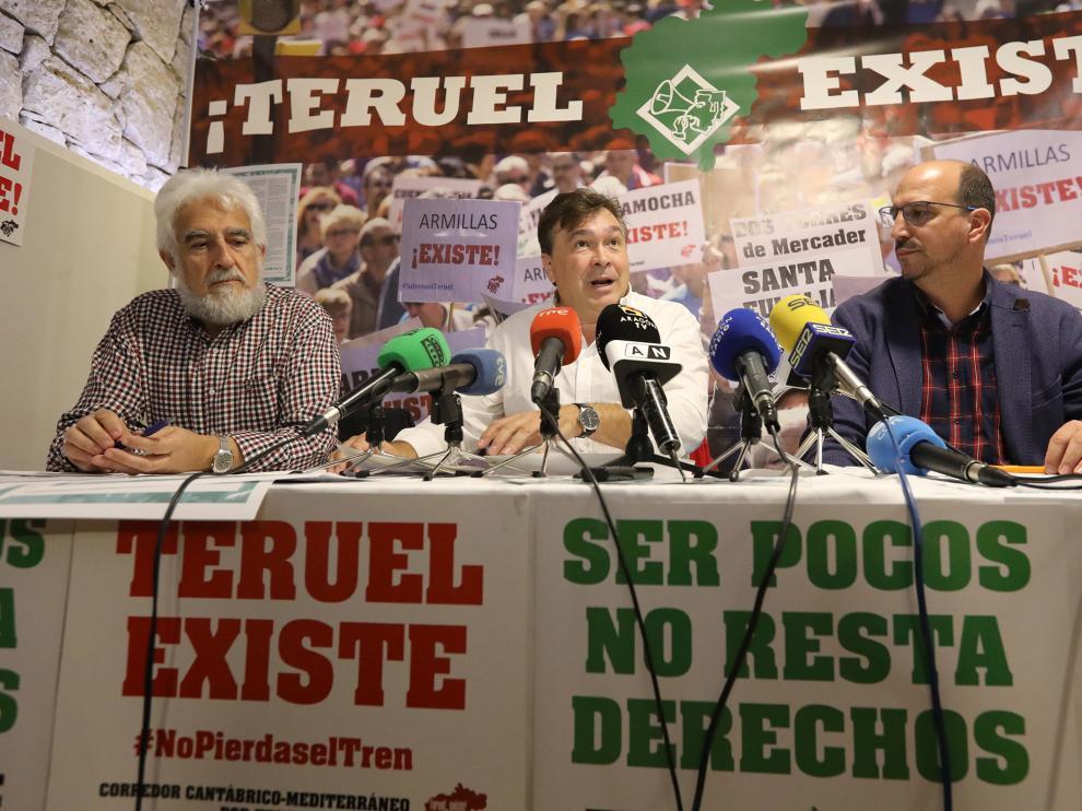 Rueda de prensa Teruel existe/30-10-19/foto:Javier Escriche [[[FOTOGRAFOS]]]