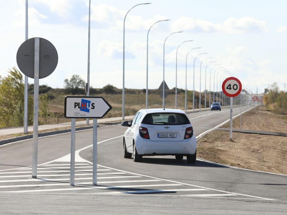 El víal parte desde la rotonda de la avenida Martínez de Velasco situada entre el cuartel de la Guardia Civil y la ITV