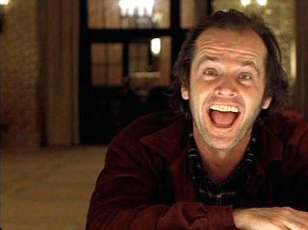 Jack Nicholson y su risa en 'El resplandor', que hiela la sangre.