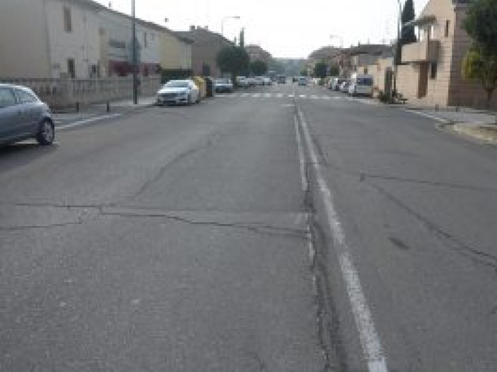 La avenida de Fernando el Católico de Ejea será una de las vías reparadas.